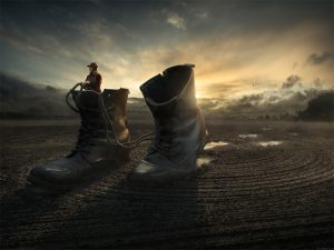Walk away par Erick Johansson sur le blog La Retouche photo.