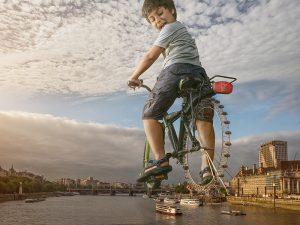 The Londoneye par Adrian Sommeling sur le blog La Retouche photo