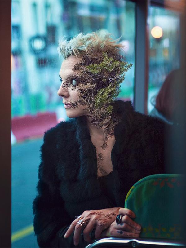 Treebeard #07, par Cal Redback sur le blog La Retouche photo.