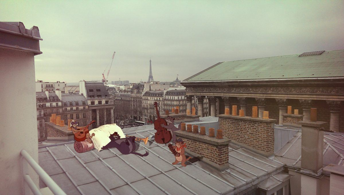InstaCartoon_Sound comes from the rooftop_crédit photo Instagram Alexandre De Vries