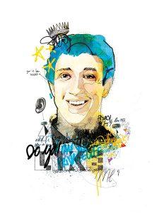 Mark Zuckerberg par Raphael Vicenzi, sur le blog La Retouche photo.