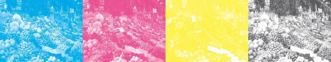 La Boqueria Wikipédia des couches CMYK sur le blog La Retouche photo
