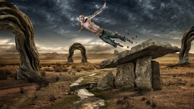 "Leap par Lewis Moorhead ""Flew Design"" sur le blog La Retouche photo"
