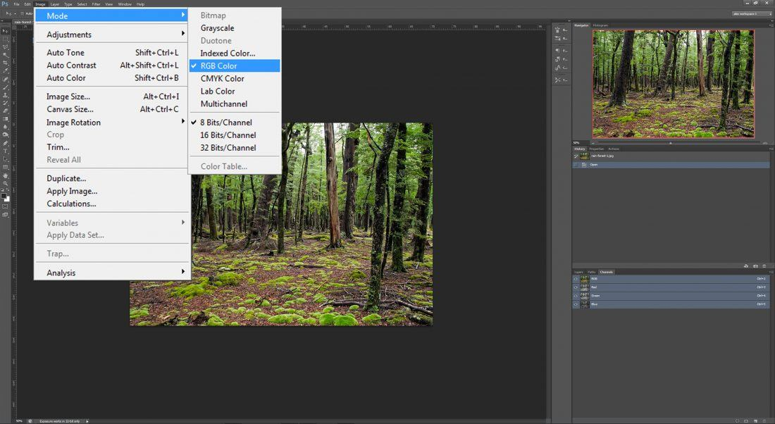 Le mode couleur dans photoshop sur le blog La Retouche photo