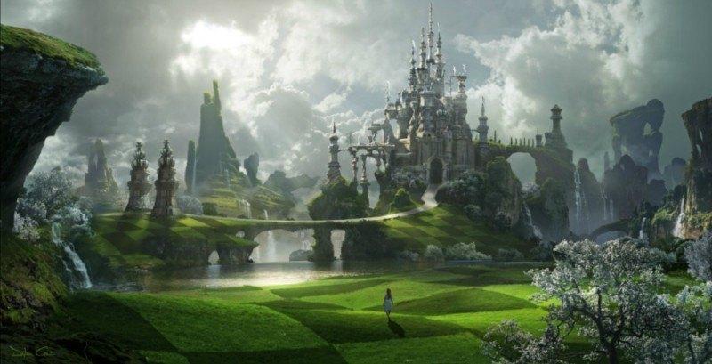 Alice aux pays des merveilles_Dylan Cole, copyright Disney, sur le blog La Retouche photo.