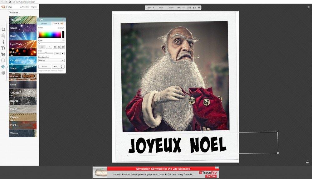 Picmonkey, un logiciel de retouche photo gratuit et en ligne sur le blog La retouche photo
