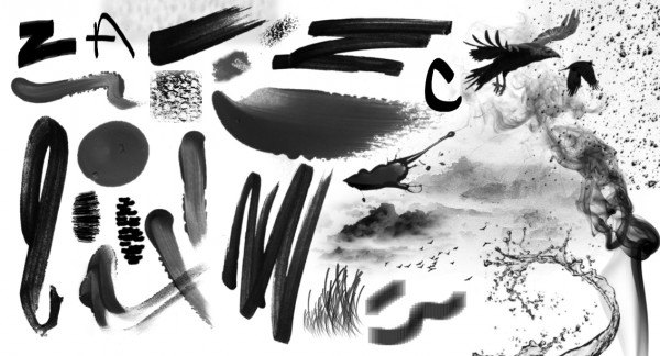 Idées Brushs grâce à la tablette graphique, sur le blog La Retouche photo