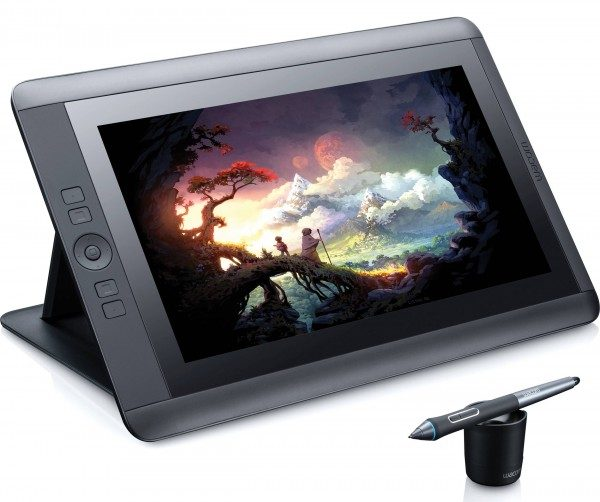 Tablette graphique Wacom Cintiq, sur le blog La Retrouche photo.