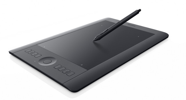 Tablette graphique Wacom Intuos, sur le blog La Retouche photo.