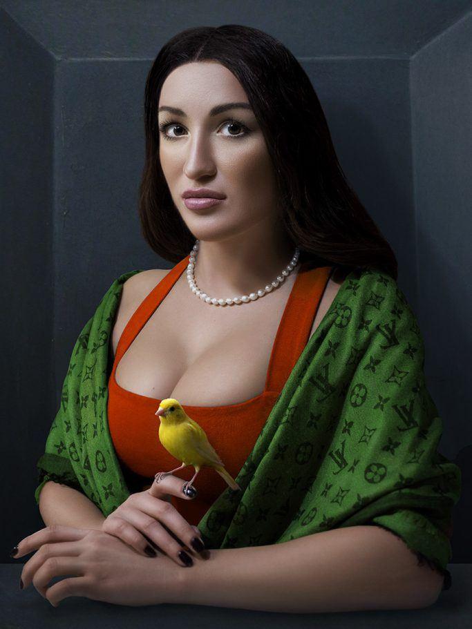Alexei Sovertkov, Classisism_ Young woman 2, sur le blog La Retouche photo.