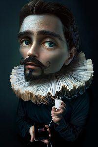 Alexei Sovertkov, Portraitooning 2.0_Young Man