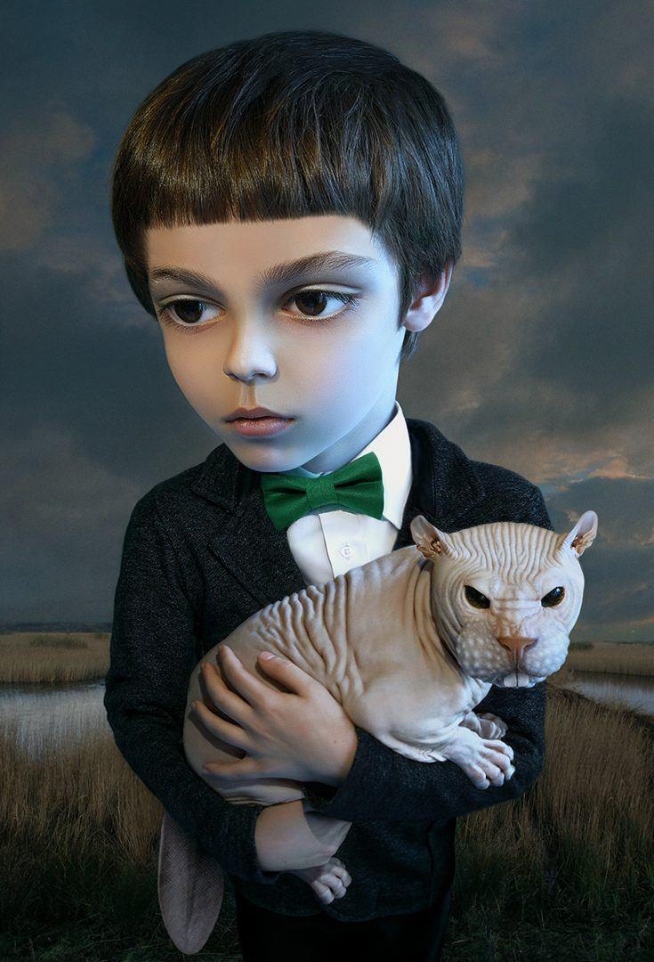 Alexei Sovertkov, Portraituning : Young Boy, sur le blog La Retouche photo.