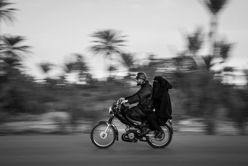 Photo par Amine Fassi, Life on the road sur le blog La retouche photo