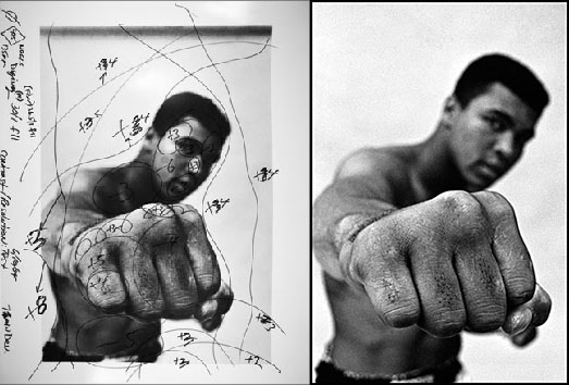 Portrait Ali par Thomas Hoepker, 1966 sur le blog La retouche photo