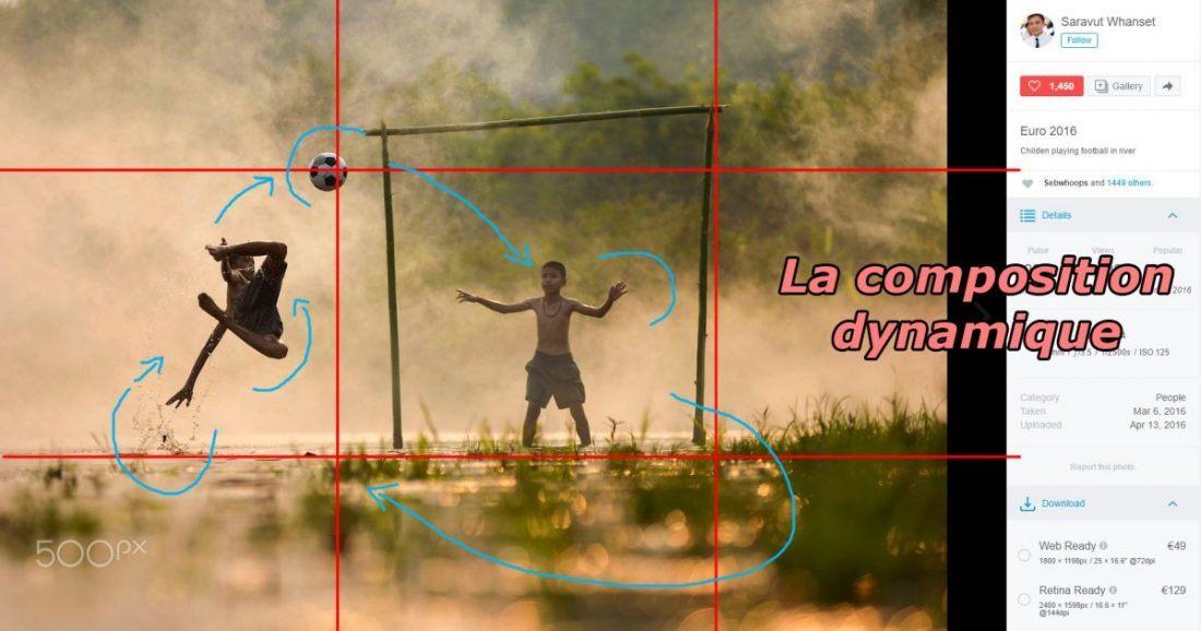 une composition dynamique par Saravut Whanset, 500px, blog la retouche photo