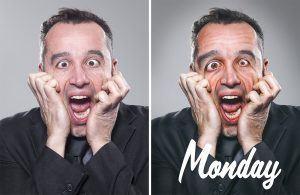 Monday la retouche photo du lundi par le retoucheur photo Alexandre De Vries