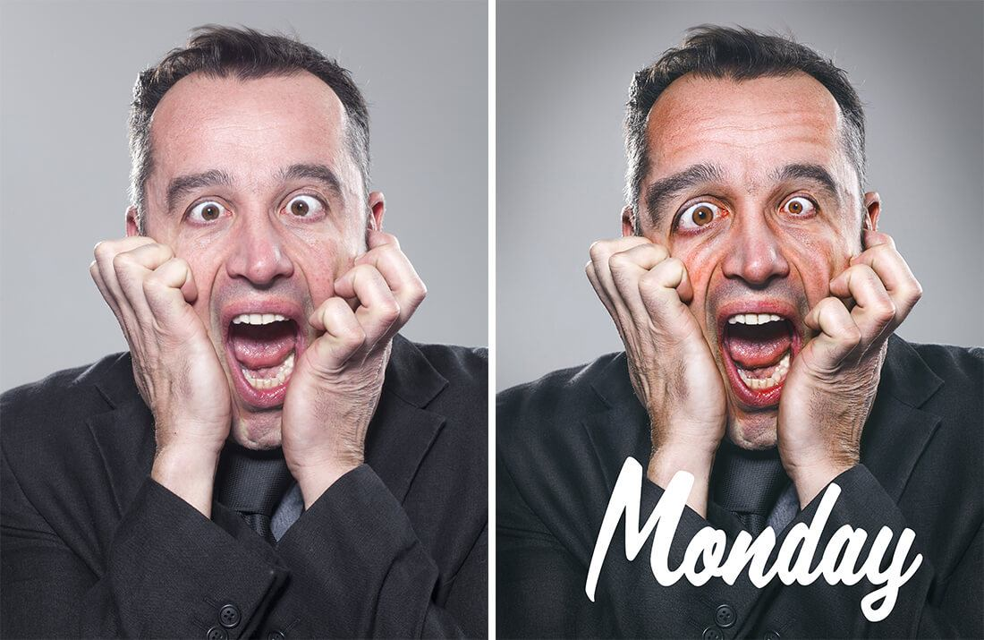 Monday week portrait quotes par le retoucheur photo Alexandre De Vries