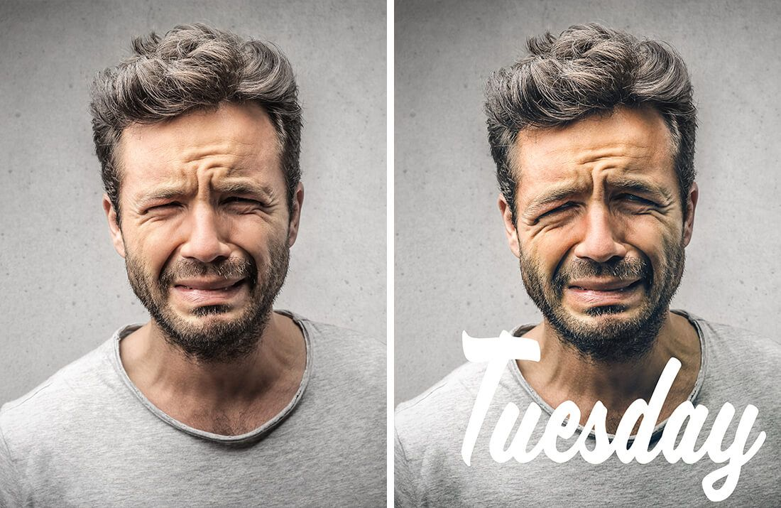 Tuesday week portrait quotes par le retoucheur photo Alexandre De Vries
