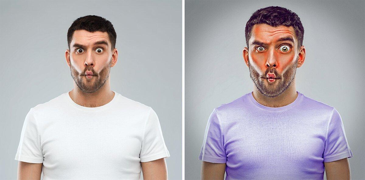"""""""Doubty"""" le sceptique, projet 7 expressive brothers sur le blog La retouche photo"""