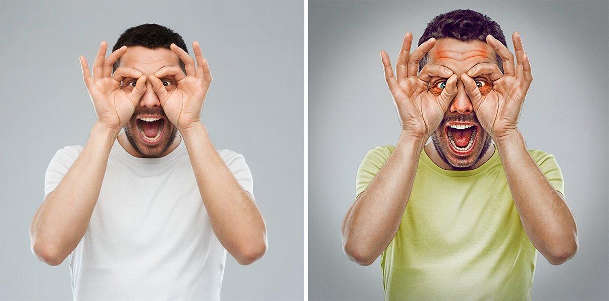 """""""Gawky"""" le farceur, projet 7 expressive brothers sur le blog La retouche photo"""