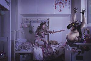 """Un jour, un artiste : Laure Fauvel """"Terreurs 2"""". La retouche photo, le blog."""