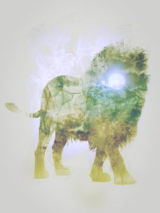 Lion, Smoky nature I