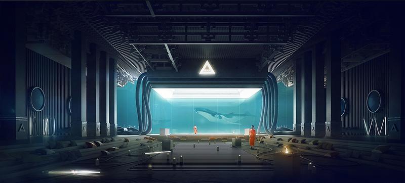 Underwater Temple par Thomas Dubois sur le blog La Retouche photo