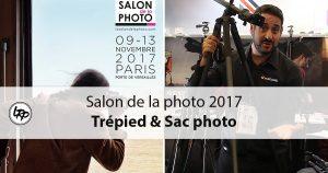 Découvrez les trépieds et sacs photo en vidéos au salon de la photo 2017, sur le blog La Retouche photo.