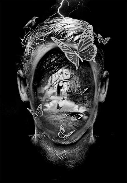 Stephen King, Fantasmagorik, par Nicolas Obery sur le blog La Retouche photo.