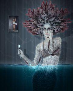 Aethuse, réalisé sur Photoshop pour le challenge 17 Advanced Creation