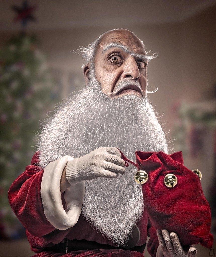 Santa Claus. Copyright Alexandre De Vries La retouche photo
