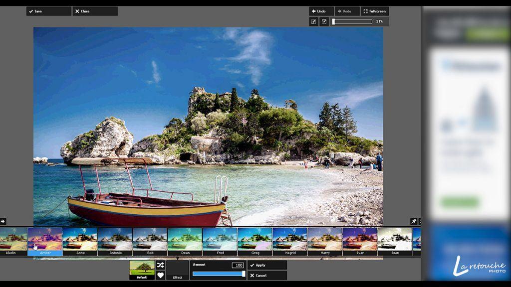 Pixlr Express, montage photo gratuit