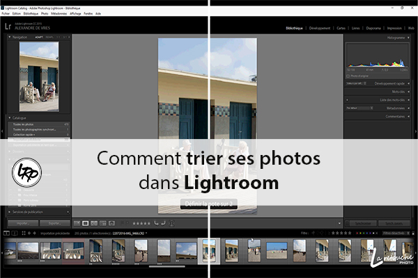 comment trier ses photos dans Lightroom sur le blog La Retouche photo