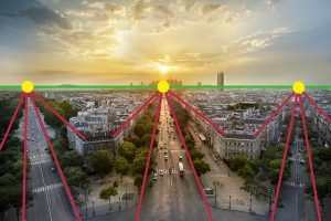 arc de trimphe, comprendre la perspective sur le blog La Retouche photo