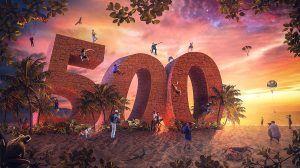 500 abonnés, speed art Photoshop sur le blog La Retouche photo