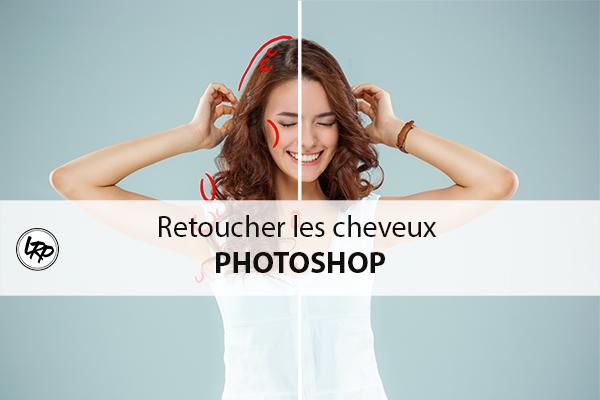 Tuto Photoshop pour retoucher les cheveux sur le blog La Retouche photo