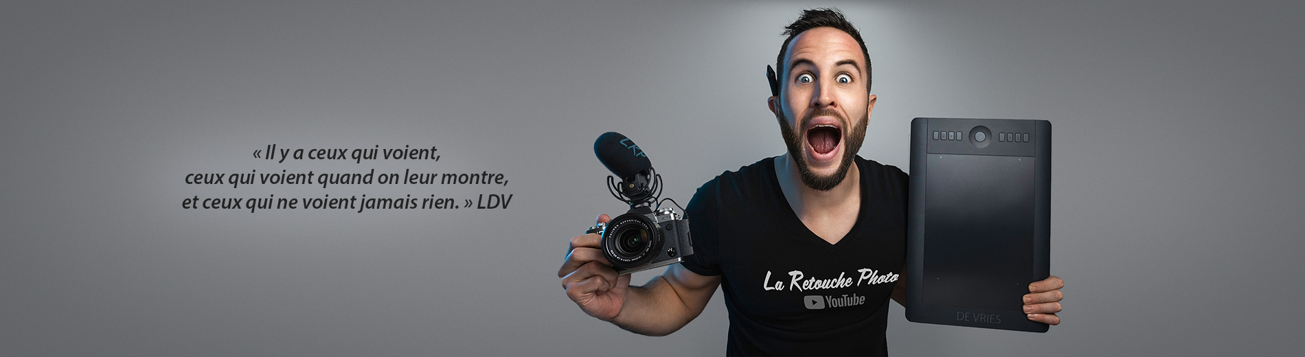 La Retouche photo : ensemble clic, par clic