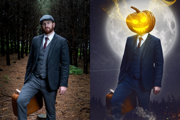 Affiche halloween avec Photoshop