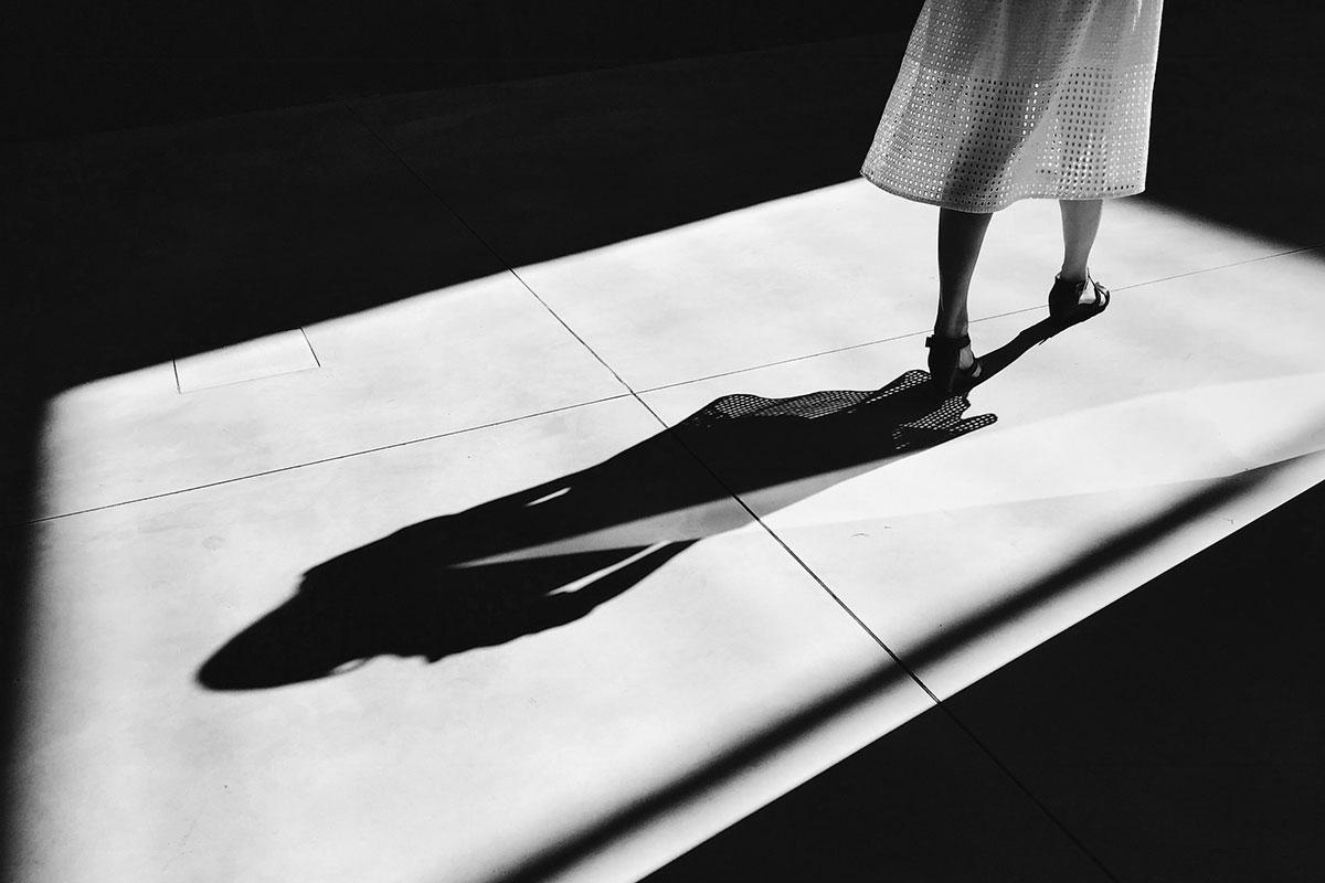 La photo noir et blanc